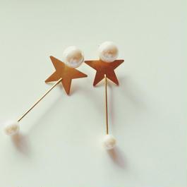 Twinkle Twinkle Star earrings(イヤリング、ピアス)