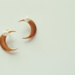 Twinkle Twinkle Moon earrings