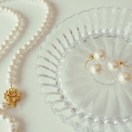 Pearl×Pearl ピアス