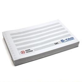 B-TAO五線紙ダブル