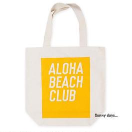 ALOHA BEACH CLUB ロゴ トートバッグ