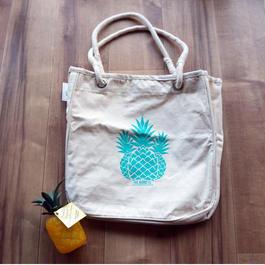 ホールフーズマーケット ×tag aloha パイナップル トートバッグ/エコバッグ
