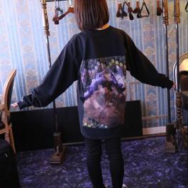 [受注販売] SUSUロングTシャツ / Black