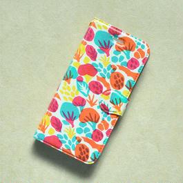 iPhone7用ケース 手帳型|風の森