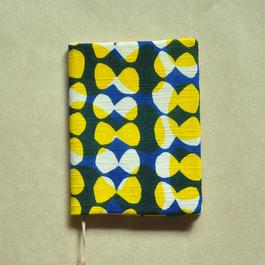 型染布ブックカバー(文庫本サイズ)|ハマグリ(多色)