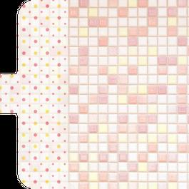 タイル柄スマホケース_iPhone6/6s swan  プチコレ