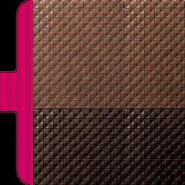 タイル柄スマホケース_iPhone6/6s swan  チョコBee