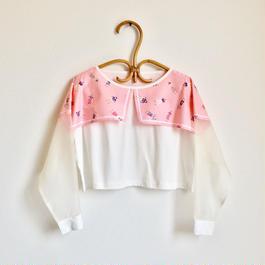 夏に着る長袖Tシャツ / ピンク