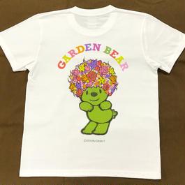 ※お問い合わせください。GADEN BEAR Tシャツ(ホワイト)