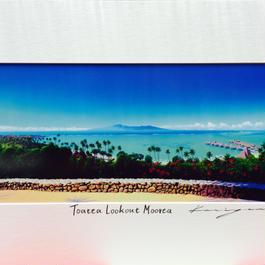 栗山義勝 タヒチアンアートボード「Toatea Lookout Morea」