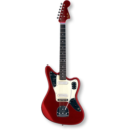 Fender Japan Exclusive Classic 60s Jaguar / Rosewood / Old Candy Apple Red ( 0717669381431 )