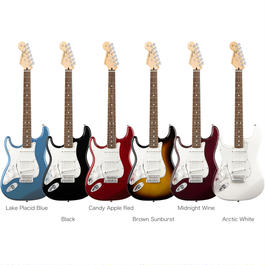 Fender Standard Stratocaster® Left-Handed / Rosewood Fingerboard