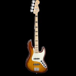 Fender American Elite Jazz Bass® Ash/Maple / Tobacco Sunburst ( 0885978655977 )