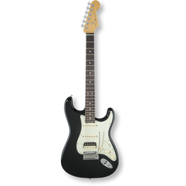 Fender American Elite Stratocaster® HSS Shawbucker Mystic Black / Rosewood ( 0885978655861 )