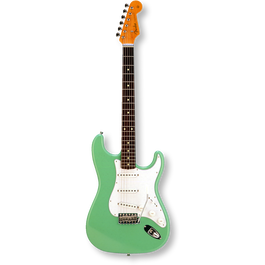 Fender Japan Exclusive Classic 60s Stratcaster Rosewood / Surf Green ( 0717669903473 )