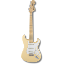 Fender Yngwie Malmsteen Stratocaster® Vintage White / Scalloped Maple Fingerboard ( 0717669536275 )
