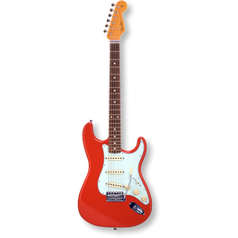 Fender Japan Exclusive Classic 60s Stratcaster Rosewood / Fiesta Red ( 0717669903596 )