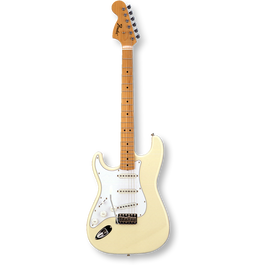 Fender Japan Exclusive Classic 68 Stratcaster Left Hand / Maple / Vintage White ( 0717669223878 )