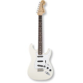 Fender Ritchie Blackmore Stratocaster® Scalloped Rosewood  / Olympic White ( 0717669639877 )