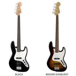 Fender STANDARD JAZZ BASS® FRETLESS