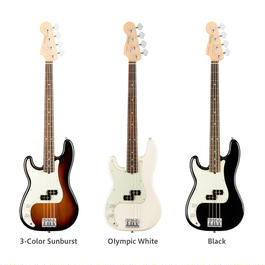 【新製品】Fender レフティ American Pro Precision Bass® Left-Hand Maple Fingerboard