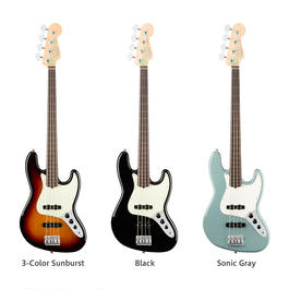 【新製品】Fender American Pro Jazz Bass® Fretless Rosewood Fingerboard