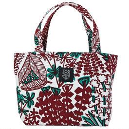 Mini tote Bag 「YASOU」bordeaux