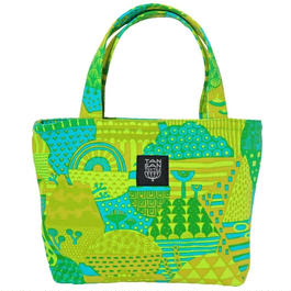 Mini tote Bag 「YAMANAM」green