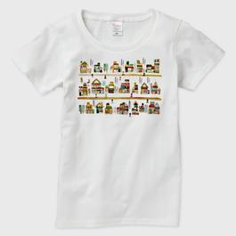 受注制作*Tシャツ/おかいもの レディース otanitaro.com