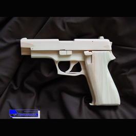 Blowback Rubber Band Gun ・SIG SAUER Type(English version)