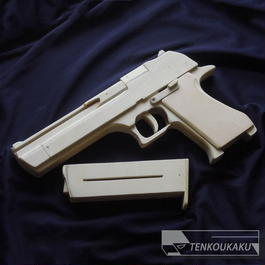 Blowback Rubber Band Gun with Ejection Function・Desert Eagle Type(English version)