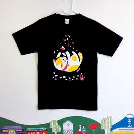 ニャンコTシャツ 男性用M〜L