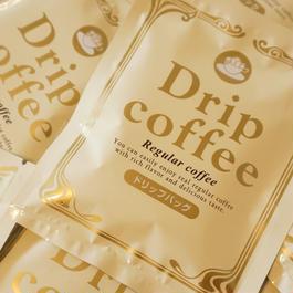 【新発売】ドリップオンコーヒー(レギュラー)10g×10パック