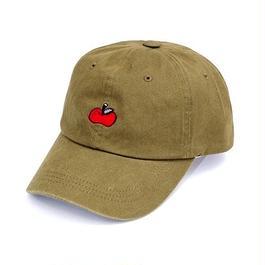 りんご刺繍CAP