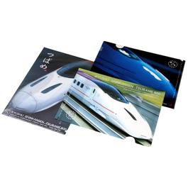 九州新幹線800系つばめ クリアファイルセット(3枚)【TD042】