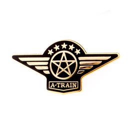 A列車で行こうピンズ(羽型)【TD039】