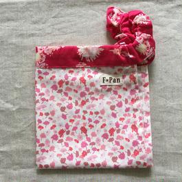 ふんどしパンツF☆Pan【Mサイズ】 フェリダfabric<ピンク花柄>