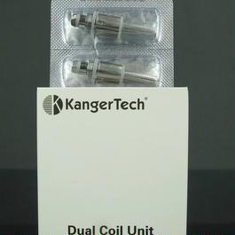 正規品【KangerTech】 カンガーテック 等の交換用アップグレードデュアルコイル5個セット