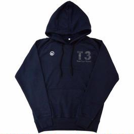 【TRESJAPAN】T3 ラグランフーディ(ネイビー)