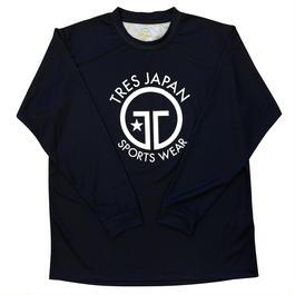 TRESJAPAN】イージードライロングTシャツ(ブラック)