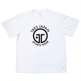【TRESJAPAN】イージードライTシャツ(ホワイト)