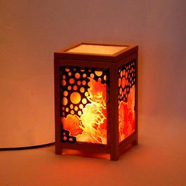 ねぷたの牡丹絵灯籠(固定型バージョン  A )