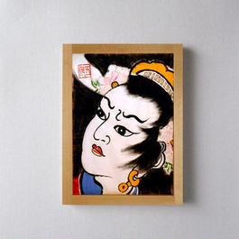 題目:『三国志 祝融夫人』/ ねぷた絵 灯籠パネル(単品)