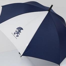 EMN TokyoDisneyRESORT ディズニー リゾート 子供用傘 USED美品 ミッキーマウス ネイビー 60cm 中古