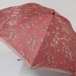 FS1675 前原光榮商店 高級折りたたみ傘 USED超美品 ヴェルデ 日本製 リーフテイルズ 55cm 中古 ブランド