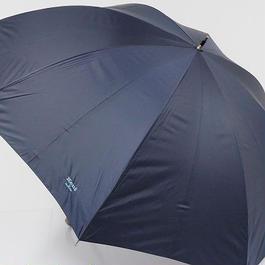 A0502 Kent IN TRADITION ケント 紳士傘 USED美品 ネイビー 超大判 70cm 中古 ブランド