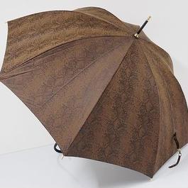 A0541 CDEC クードシャンス 傘 USED極美品 パイソン柄 大蛇 SEXY 60cm 中古 ブランド