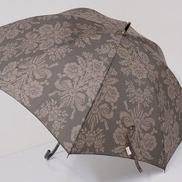 A0335 Laura Ashley ローラアシュレイ 晴雨兼用傘 USED極美品 タットン UV 50cm 中古 ブランド