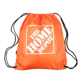 Orange Home Depot Cinch-Pack