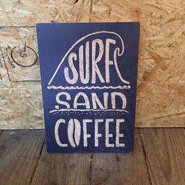 SURF  SAND  サインボード